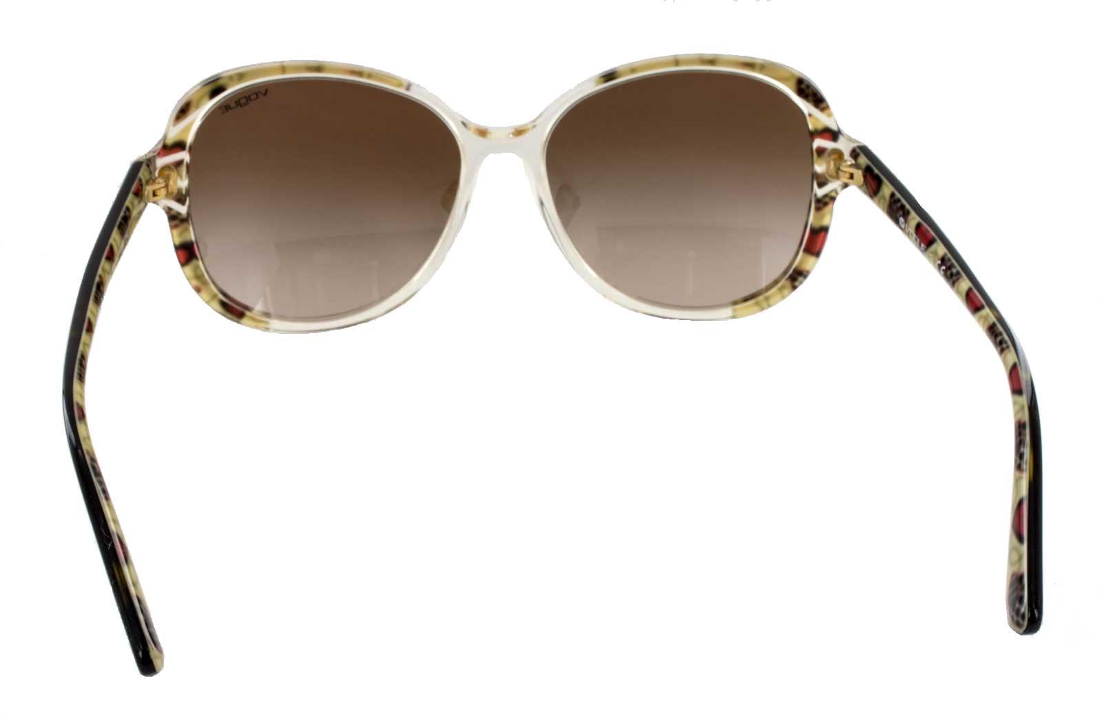 Vogue Sonnenbrille Damen Brille braun havanna