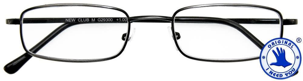 I NEED YOU Lesebrille Lesehilfe New Club M antik silber INY-293XX