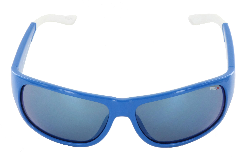 Polo Ralph Lauren RLX Sport Sonnenbrille blau weiß 53496J Size 64