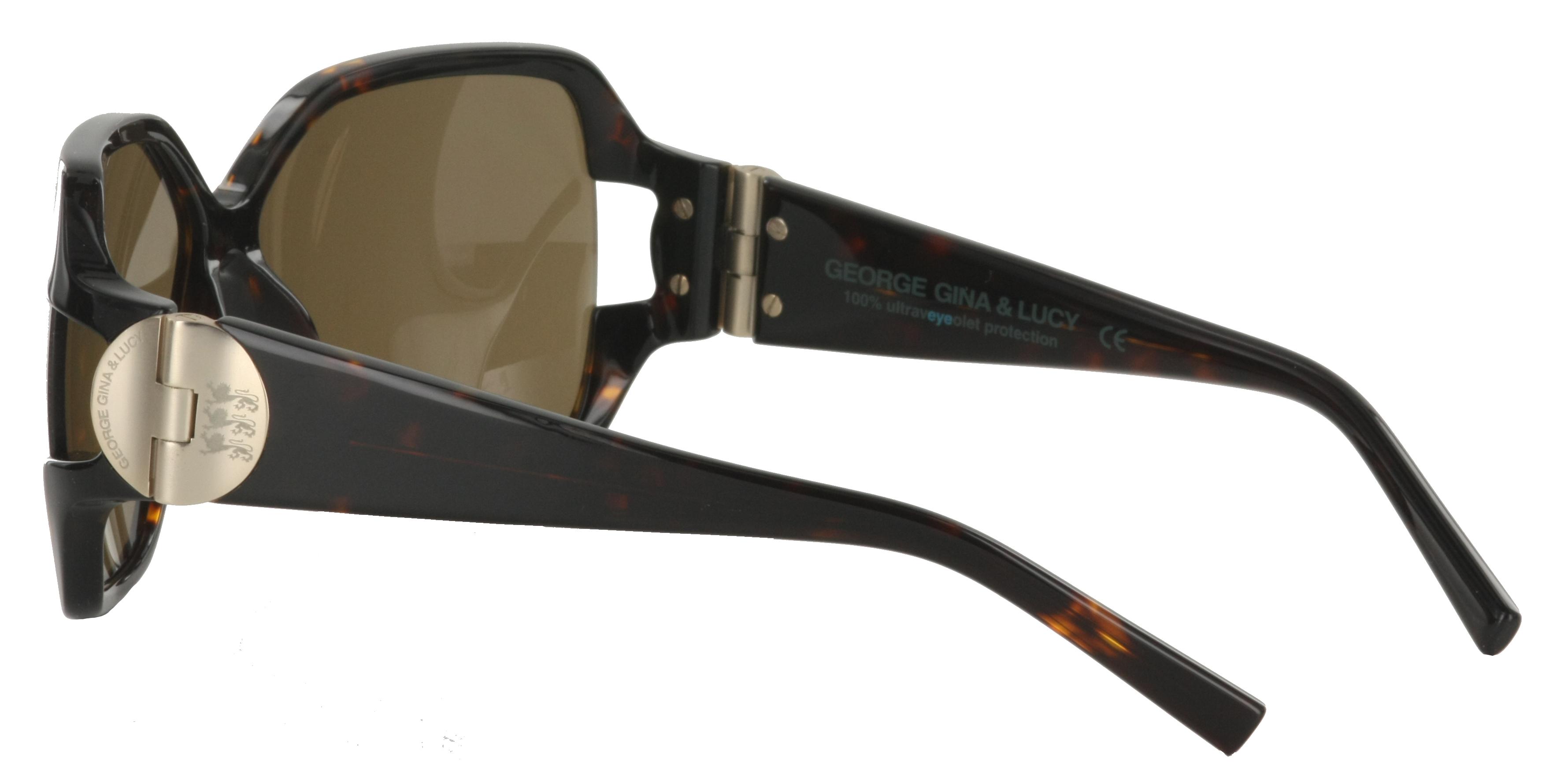 Damen Sonnenbrille braun Damen Brille Havanna Leyemesoda GEORGE GINA & LUCY