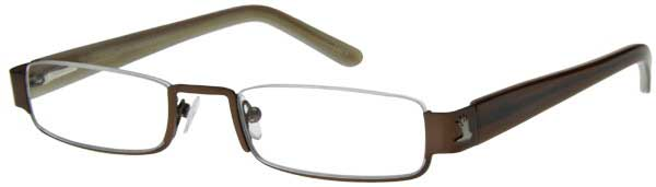 Lesebrille I NEED YOU Lesehilfe braun Nylorbrille INY-252XX